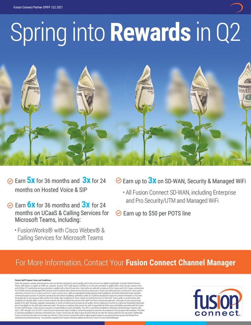 Fusion Connect Spring into Rewards in Q2