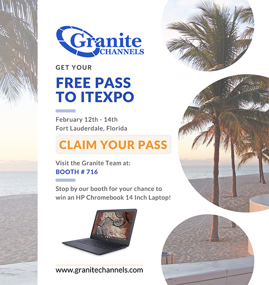 Granite - Free Pass to ITEXPO, Feb 12-14th in Fort Lauderdale, Florida