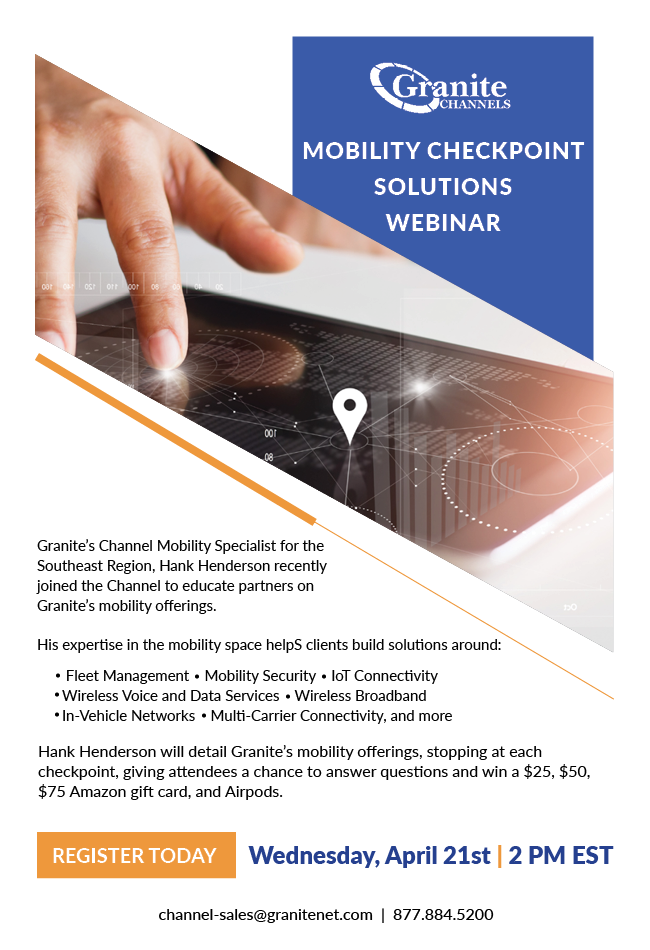 Mobility Checkpoint Solutions Webinar